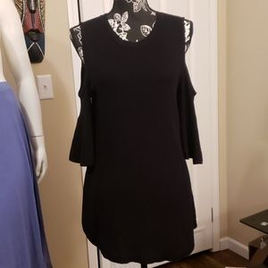 Isaac Mizrahi Black Dress